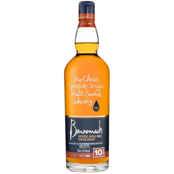 Benromach, 10 Y - 100º Proof (0.7 ℓ)