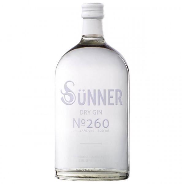 Sünner Dry Gin No. 260 (0.7 ℓ)