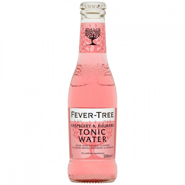 Fever-Tree - Raspberry & Rhubarb Tonic Water (0.2 ℓ)