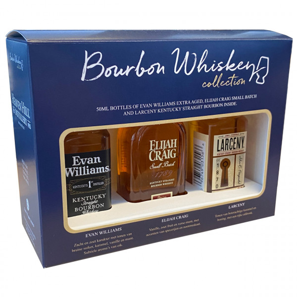 Bourbon Whiskey Collection (0.15 ℓ)