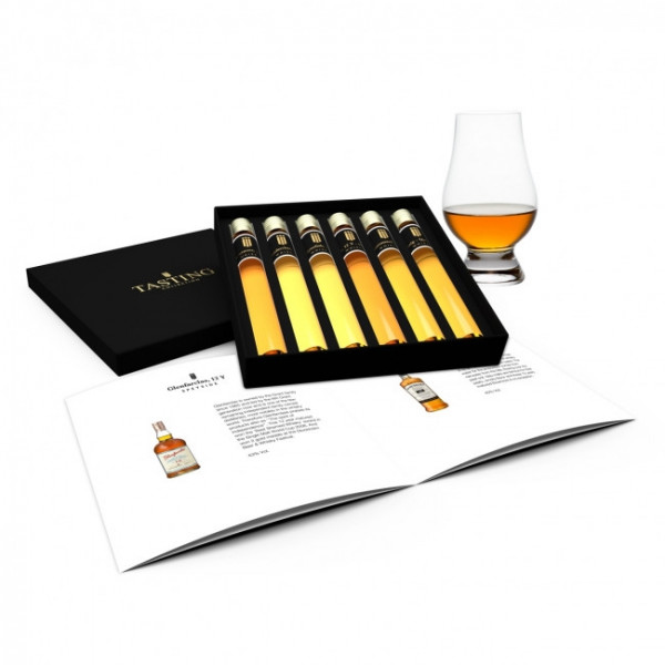 Johnnie Walker Tasting Collection 6 Tubes in Gift Box