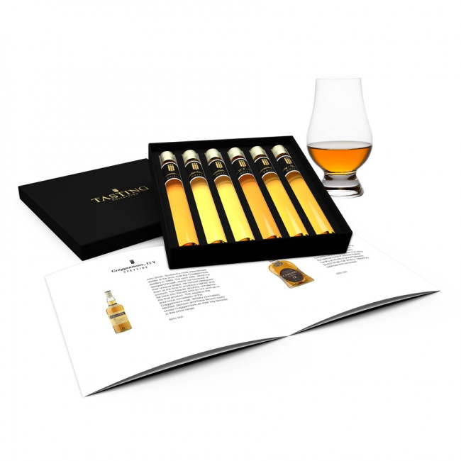 Whisky Tasting 6 Tubes in gift box