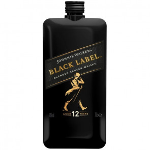 Johnnie Walker - Black Label, 12 Y - Pocket Scotch (0.2 ℓ)