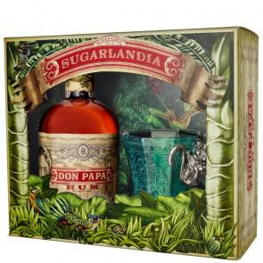 Don Papa, 7 Y Gift Pack (0.7 ℓ)