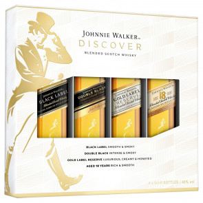 Johnnie Walker - Discover Collection miniset (0.2 ℓ)