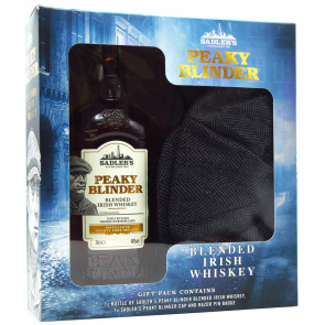 Peaky Blinder - Irish Whiskey Gift-Pack Cap (0.7 ℓ)