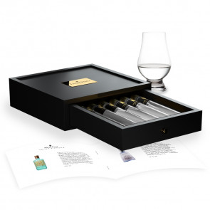 Gin Tasting 6 Tubes in wooden box