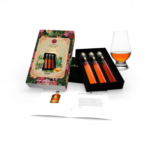 Rum Tasting Collection 3 tubes in Gift Box Bacardi True Aged Rums