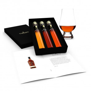 Rum Tasting Collection 3 tubes in Gift Box set 2