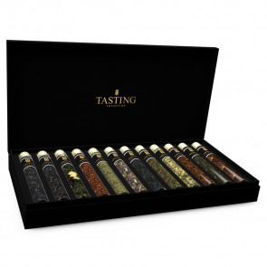 Tea Tasting 12 Tubes in gift box