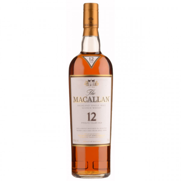 Macallan, 12Y - Sherry Oak