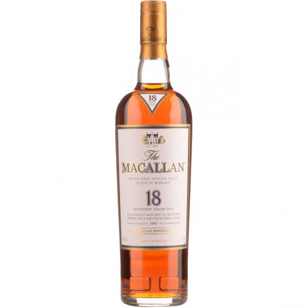 The Macallan, 18Y - Sherry Oak