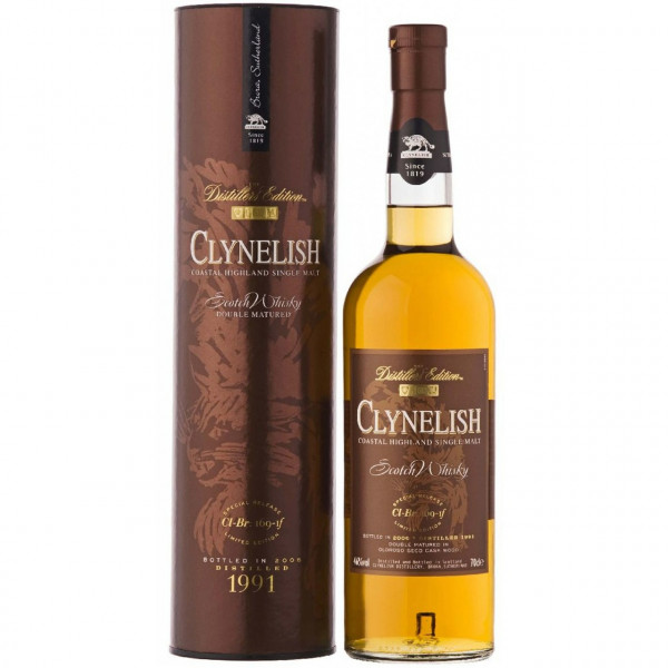 Clynelish - Distillers Edition, 1991