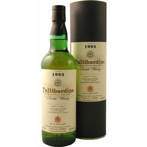 Tullibardine - Vintage 1993 oude stijl