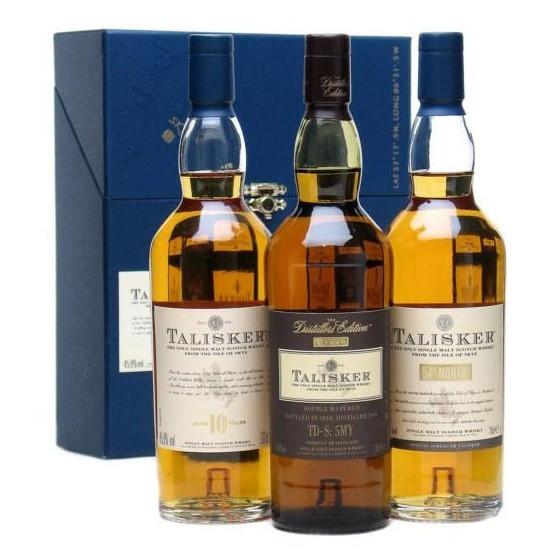 Talisker - 10 Y, 57 North, Distillers Edt.