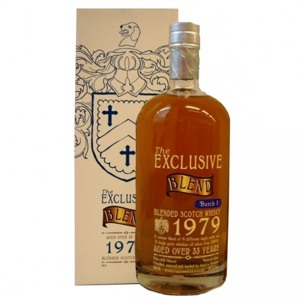 The Exclusive Blend, 33 Y - 1979 batch 1
