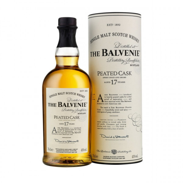 Balvenie, 17 Y - Peated cask