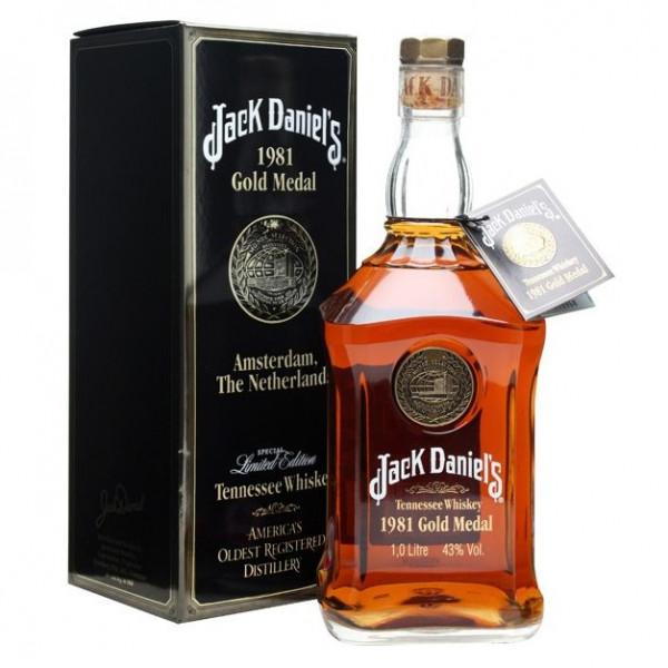 Jack Daniel's - 1981 Gold Medal Series