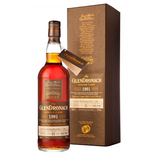 Glendronach - SC 1991 PX #1346