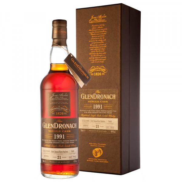 Glendronach - SC 1991 PX #5409