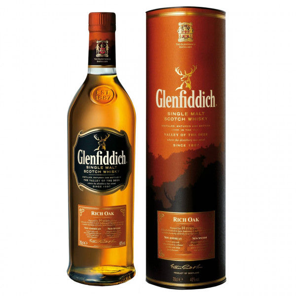 Glenfiddich, 14 Y - Rich Oak