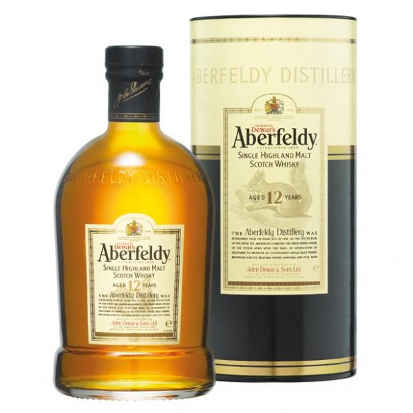 Aberfeldy, 12 Y - Oude botteling