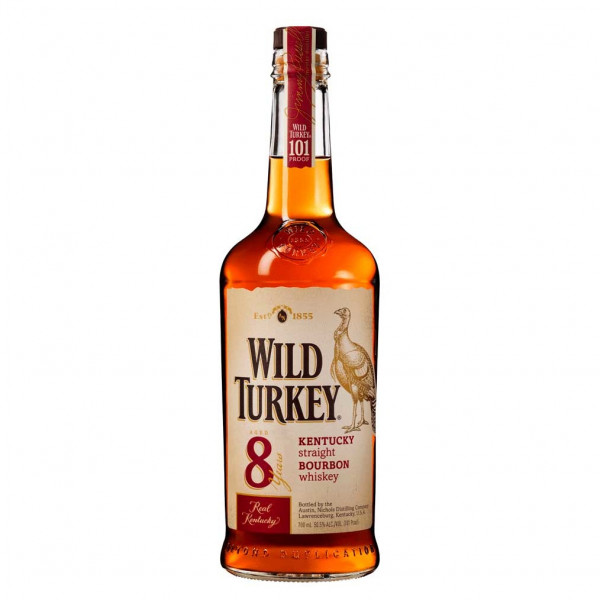 Wild Turkey, 8 Y - Bourbon Whiskey 101