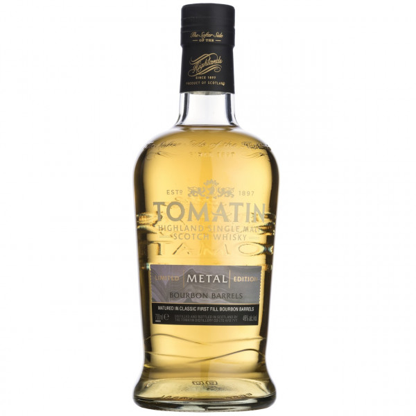 Tomatin - Five Virtues, Metal