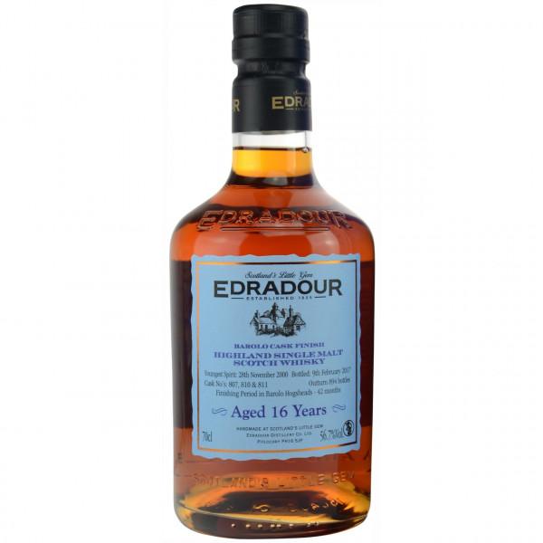 Edradour, 16 Y - Barolo Cask Finish