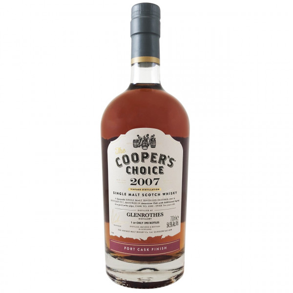 Cooper's Choice - Glenrothes, 10Y - 2007 Port Finish