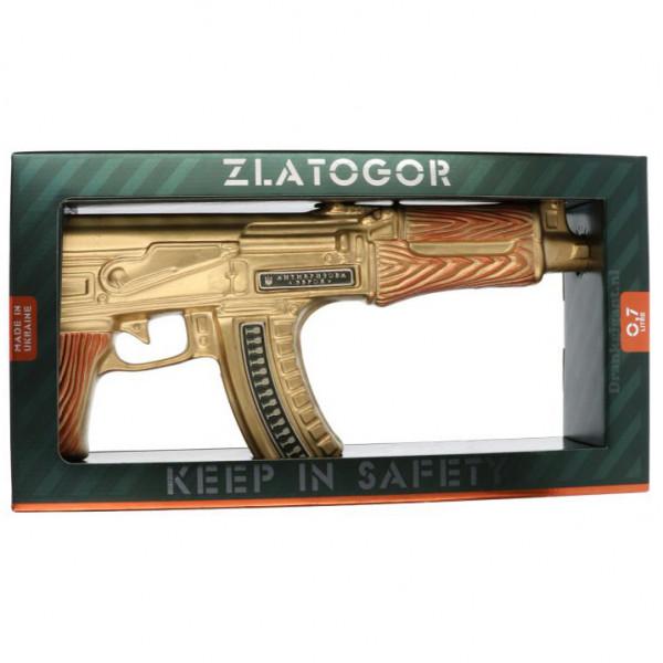 Zlatogor Gold AK 47 Vodka