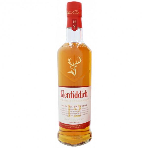 Glenfiddich, 12 Y Triple Oak