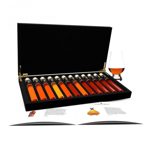 Rum proeverij 12 Tubes in Houten Kist