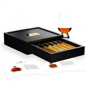 Rum proeverij 6 Tubes in Houten Kist
