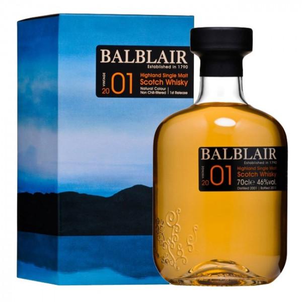 Balblair - 2001 Vintage