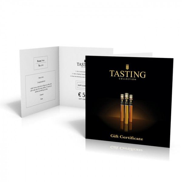 Carte-cadeau de Tasting Collection
