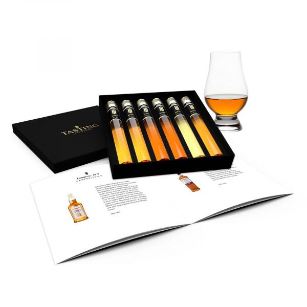 Whisky Tasting 6 Premium Whiskies in gift box