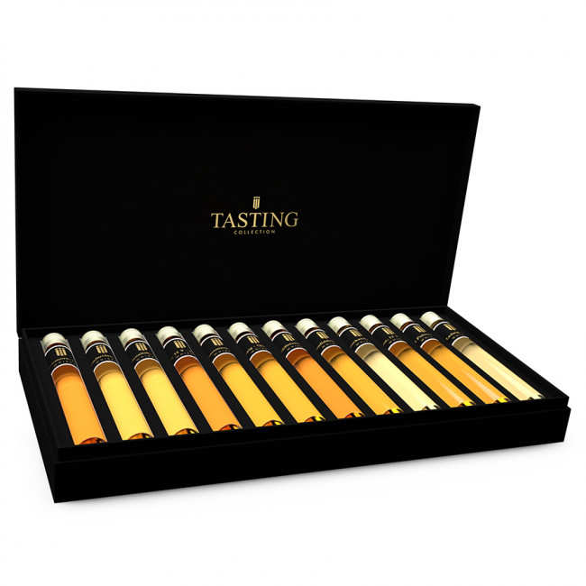 whisky d gustation 12 tubes en coffret cadeau. Black Bedroom Furniture Sets. Home Design Ideas