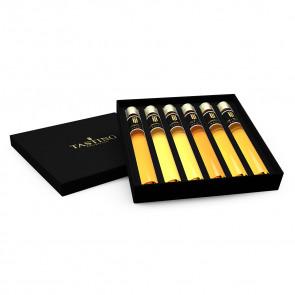 Whisky dégustation 6 Tubes en coffret cadeau