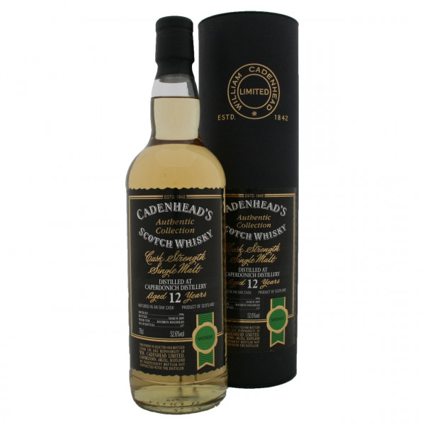 Caperdonich, 12 Y - Cask Strenght