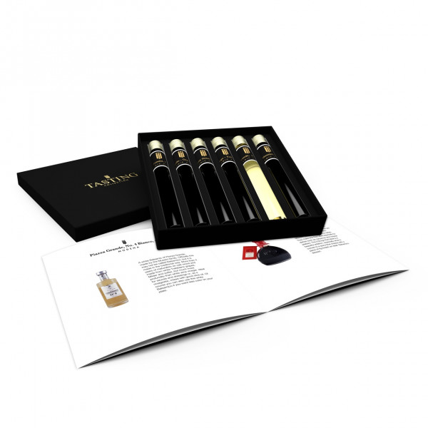 Balsamico Essig Probe 6 Tubes in Luxusbox