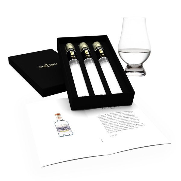 Gin Tasting Collection 3 tubes in Gift Box