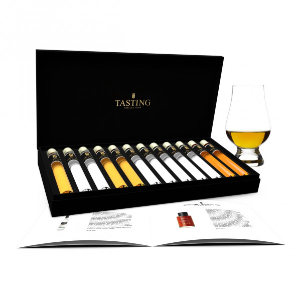 Grappa Probe 12 Tubes in Luxusbox