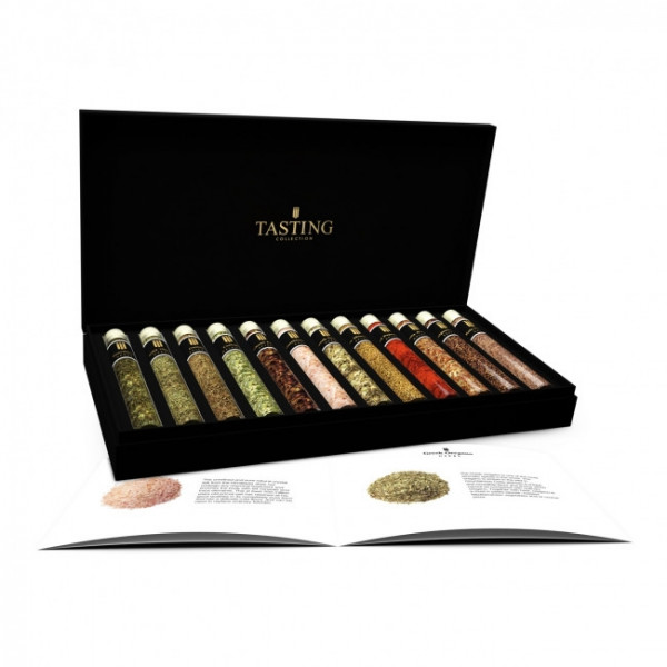 Herbs & Spices Tasting Collection Box 12 Tubes