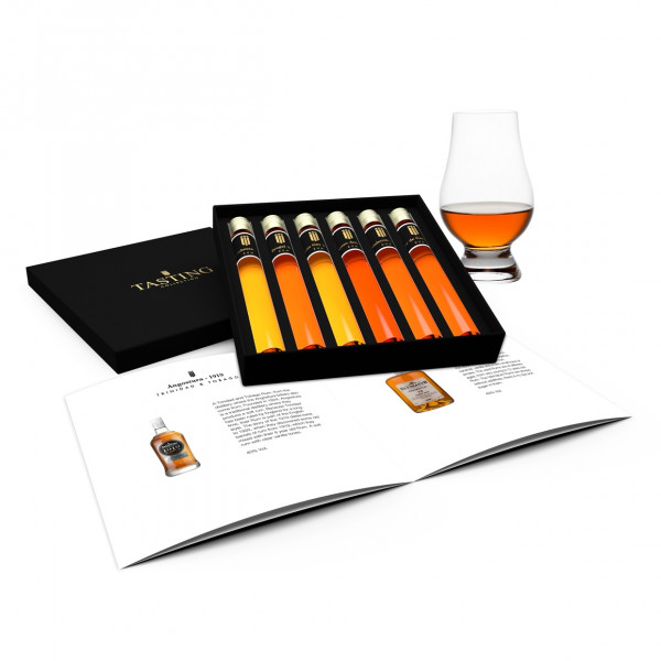 Rum Probe 6 Tubes in Luxusbox