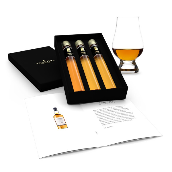 Whisky Tasting Collection 3 Tubes in Gift Box