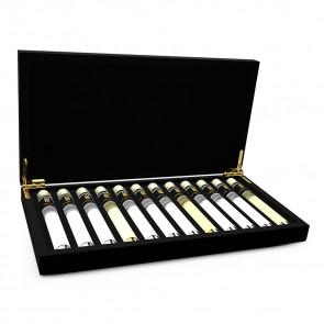 Gin Probe 12 Tubes in Luxusbox aus Holz
