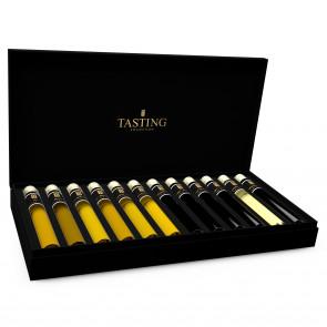 Olivenöl & Balsamico Essig Probe 12 Tubes in Luxusbox