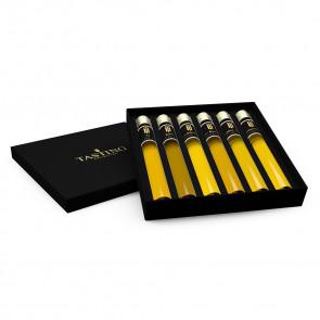 Olivenöl Probe 6 tubes in Luxusbox