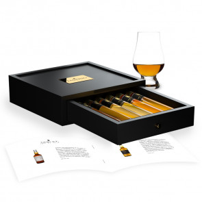 Whisky Probe 6 Premium Whiskies in Luxusbox aus Holz